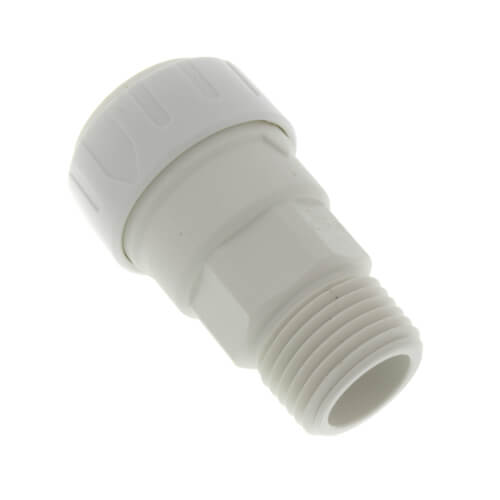 "1/2"" CTS x 1/2"" NPT Speedfit Secure Male Connector Product Image"
