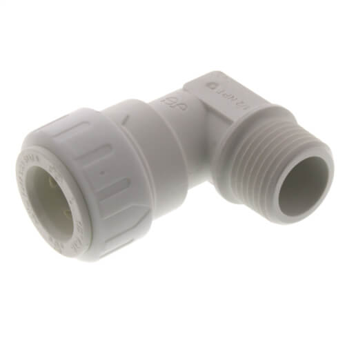 """1/2"""" CTS x 1/2"""" NPT Speedfit Male Fixed Elbow Product Image"""