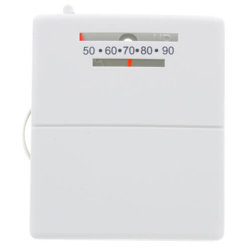 lux thermostats programmable lux thermostats lux non luxpro 2 wire heat only mechanical thermostat product image