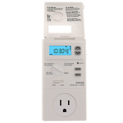 5 - 2 Programmable Outlet Thermostat (Heating & Cooling)