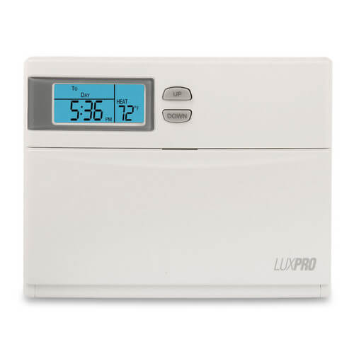 Programmable Heat Pump Thermostat (2 Heat - 1 Cool)