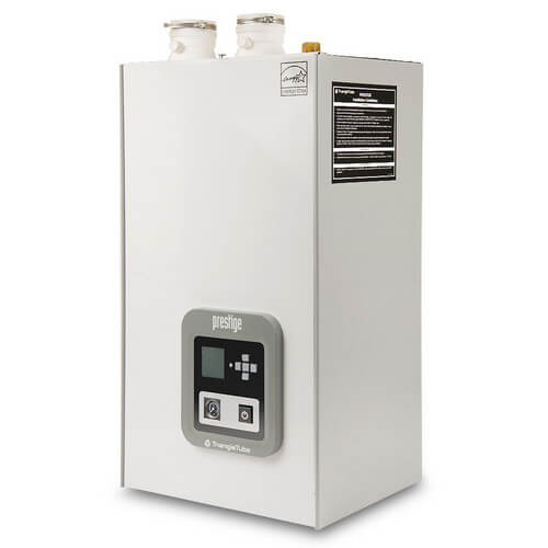 76,000 BTU Output Prestige Excellence Condensing Boiler w/ Built-In Indirect Water Heater & TriMax Control (LP)