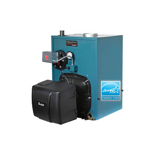 PV8H3, 109,000 BTU Output V8H Water Boiler w/ Tankless Coil, no Burner (Oil) Product Image