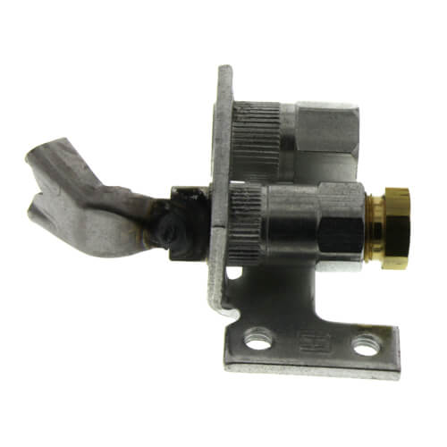 Pilot Burner for Natural Gas w/ a BCR-18 Orifice (left single tip style)
