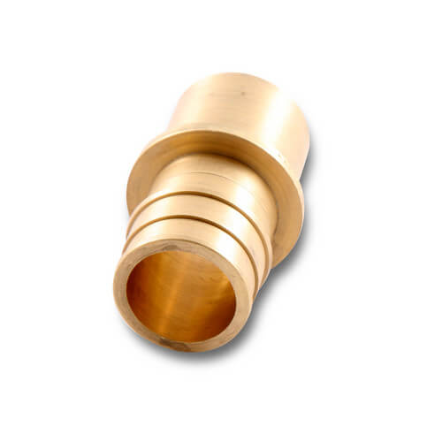 "ProPEX LF Brass Fitting Adapter, 1"" PEX x 1"" Copper"