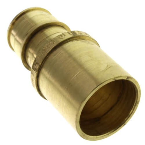 "5/8"" ProPEX x 3/4"" Copper Fitting Adapter (Lead Free Brass) Product Image"