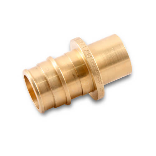 Best way to solder copper to pex adapter with raised for Pex pipe to copper