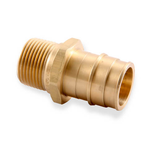 Q uponor wirsbo propex brass male