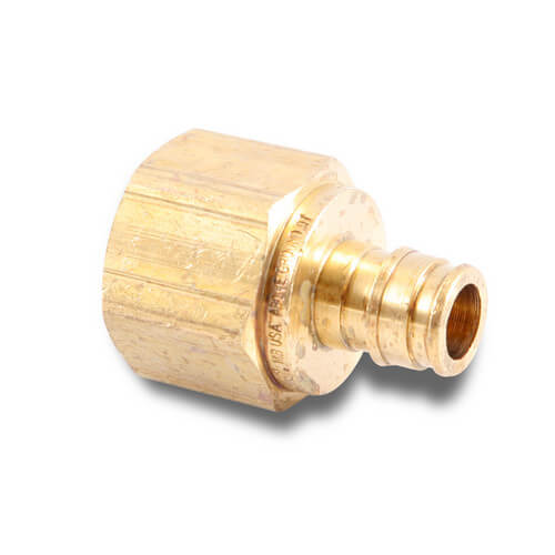 "1/2"" ProPEX x 3/4"" NPT Lead Free Brass Female Adapter"