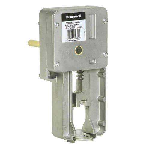 Two Position Damper Actuator w/ Spring Return for HVAC (175 lb-in)