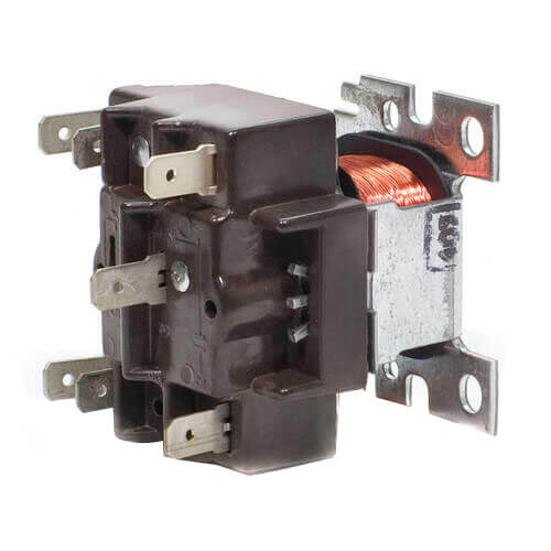 120 V General Purpose Relay w/ DPDT Pilot Duty switching Product Image