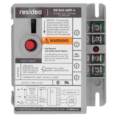 oil burner control wiring diagram oil image wiring r8184g4009 honeywell r8184g4009 protectorelay oil burner on oil burner control wiring diagram