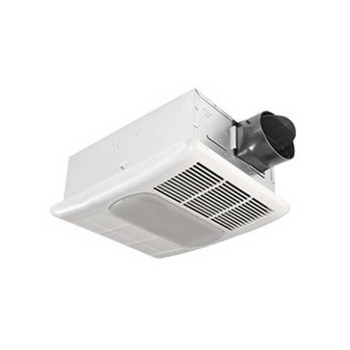 RAD80L BreezRadiance Series, Single Speed Bath Fan & Heater with Light (80 CFM) Product Image