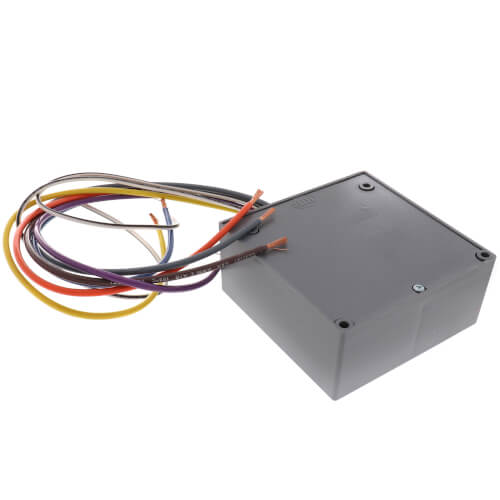 rib01p functional devices rib01p enclosed relay 20 amp dpdt with 120 vac coil