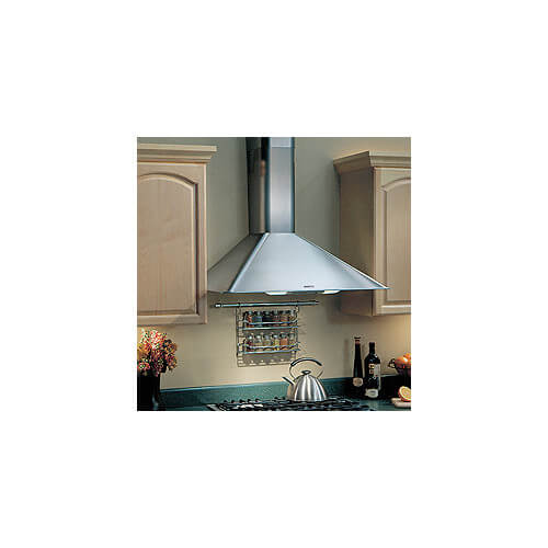 "30"" Stainless Steel Wall Mount Chimney Hood w/ Internal Blower (270 CFM)"
