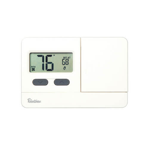 rs2210 robertshaw rs2210 digital non programmable thermostat 2 heat 1 cool