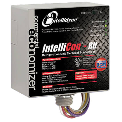IntelliCon-RU Refrigeration Unit Electrical Consumption Economizer