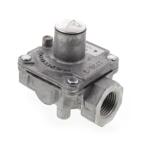 "3/8"" Poppet Style Gas Regulator w/ Vent Limiting Orifice (65,000 BTU) Product Image"