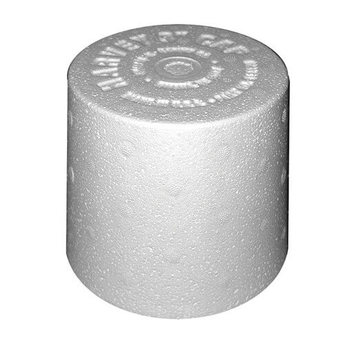 "3"" Styrofoam Closet Flange Spacer (box of 120)"