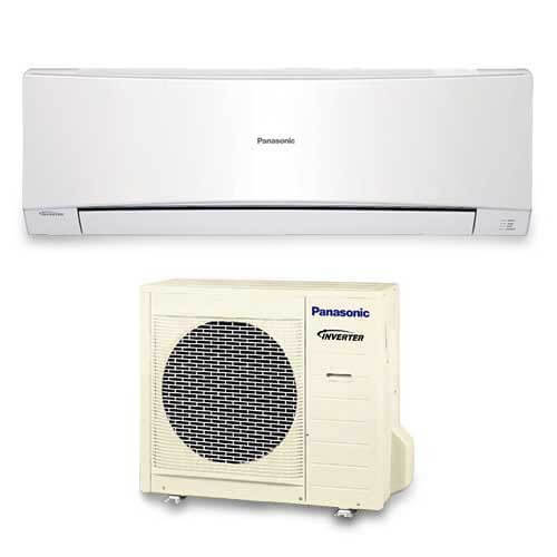 e12nkua panasonic e12nkua 12 000 btu ductless single zone mini split wall mounted heat pump. Black Bedroom Furniture Sets. Home Design Ideas