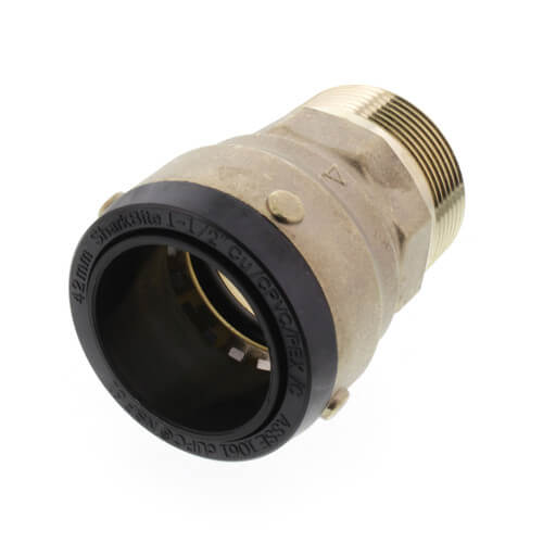 "1-1/2"" 2XL SharkBite x Male Adapter"