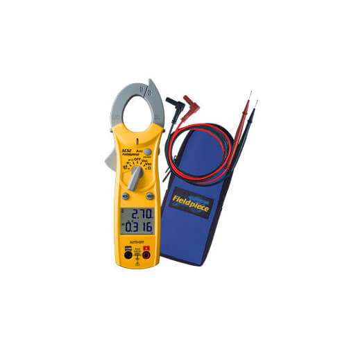 SC52, Dual Display Mini Clamp Meter for HVAC/R