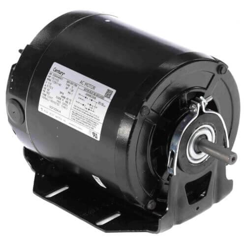 Sgf2034v4 century sgf2034v4 6 1 2 split phase belted for Electric motor sleeve bearings