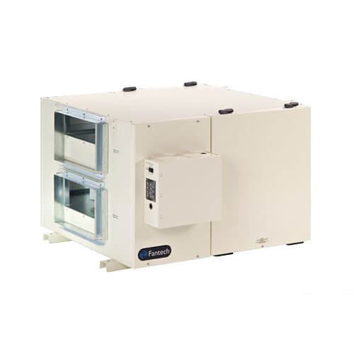 SHR Series Commercial Heat Recovery Ventilator w/ Fan Shutdown Defrost (550-1,050 CFM)