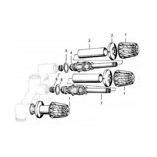 sk0274-b - brasscraft sk0274-b
