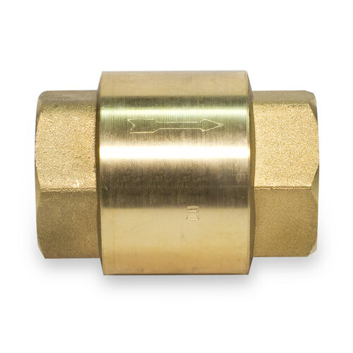"3/4"" Threaded Spring Loaded Check Valve Product Image"