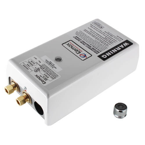 SP3512 Single Point Electric Tankless Water Heater w/ Top Connections Product Image
