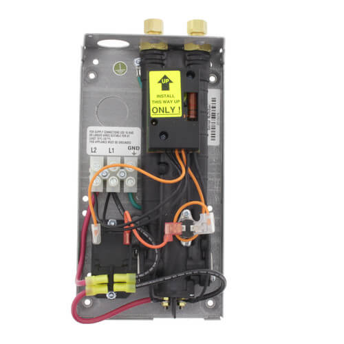 SP55 Single Point Electric Tankless Water Heater w/ Top Connections