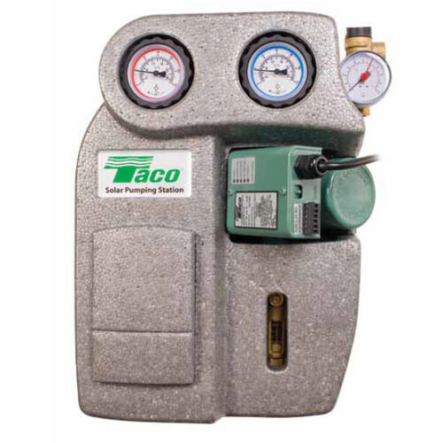 009 Variable Speed Delta-T Cast Iron Circulator Pump, 115V