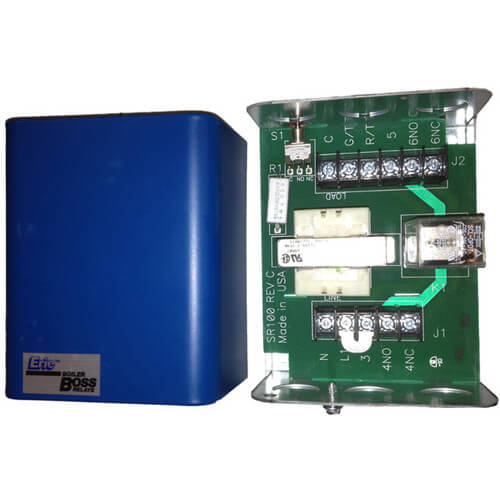 120v Single Zone Relay (DPDT) Product Image