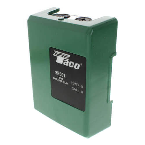 sr501 4 taco sr501 4 1 zone switching relay