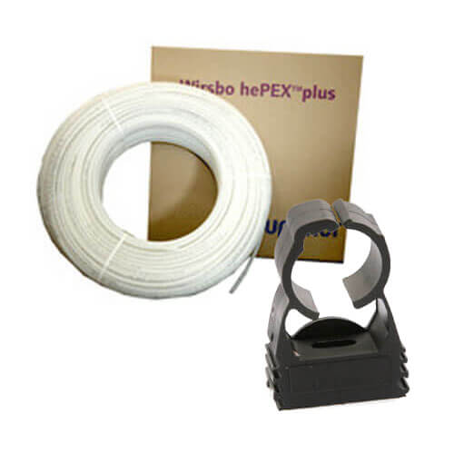 Uponor Suspended Pipe Radiant Heat Package - 1000 sq ft Product Image