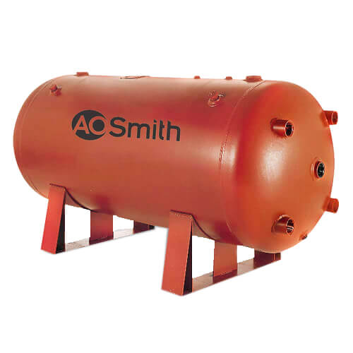 200 Gallon Uninsulated ASME Commercial Bare Storage Tank