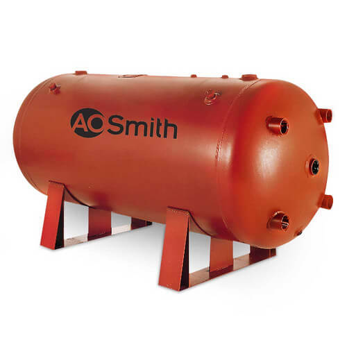 325 Gallon Uninsulated ASME Commercial Bare Storage Tank - Retrofit Special Product Image