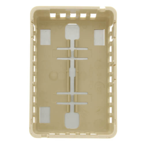 Beige Thermostat Cover Plate Assembly (Vertical or Horizontal Mount)