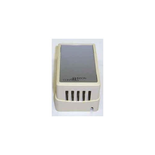 Beige Thermostat Cover Plate Assembly, Without setpoint window or thermometer, (Vertical Mount)