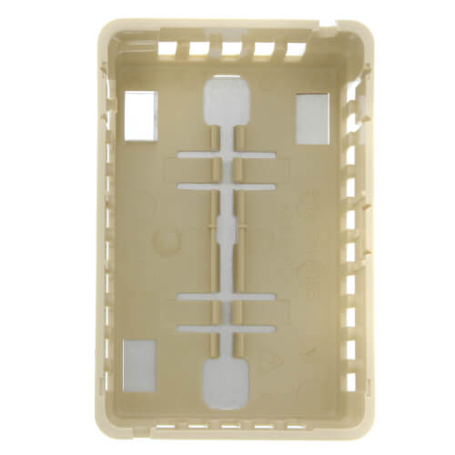 Beige Thermostat Cover Plate Assembly, Exposed setpoint without thermometer (Vertical Mount) Product Image