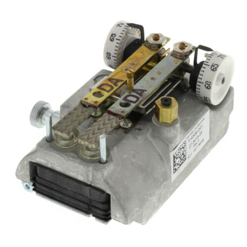 Direct Acting Dual Temperature Horizontal Pneumatic Thermostat (cover sold separately) Product Image