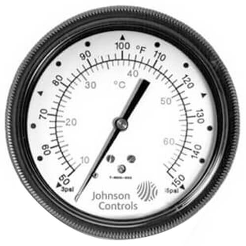 Pneumatic Temperature Gauge (0-100F)