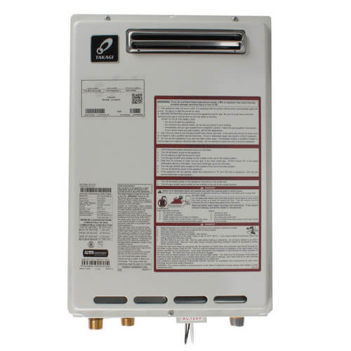 T-KJr2-OS Takagi Tankless Water Heater, Outdoor (Natural Gas)