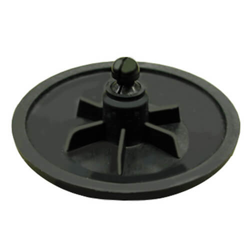 "1-1/4"" x Close Black Nipple"