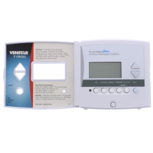 Venstar T1900 7 Day Programmable Digital Thermostat