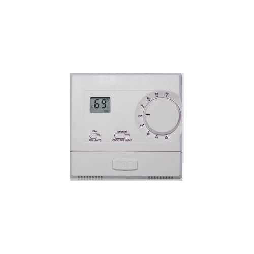 T601 Non-Programmable Thermostat, w/ Knob Adjustment Setpoint (1H/1C)