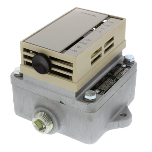 Heavy Duty Line Voltage Thermostat, Explosion Proof (46 to 84F) Product Image