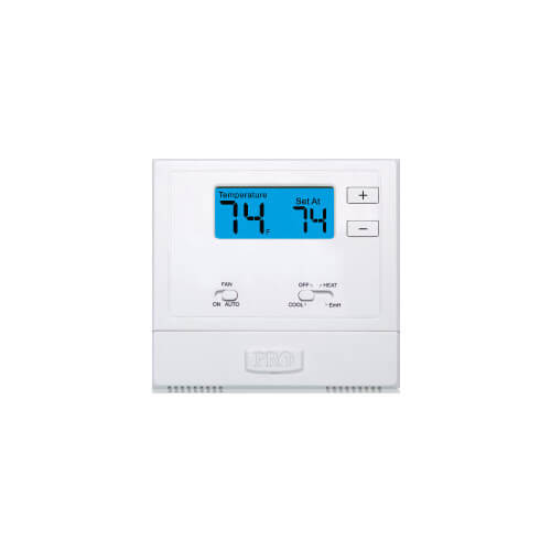 T621-2 Non Programmable Thermostat w/ Heat Pump (2H/1C)