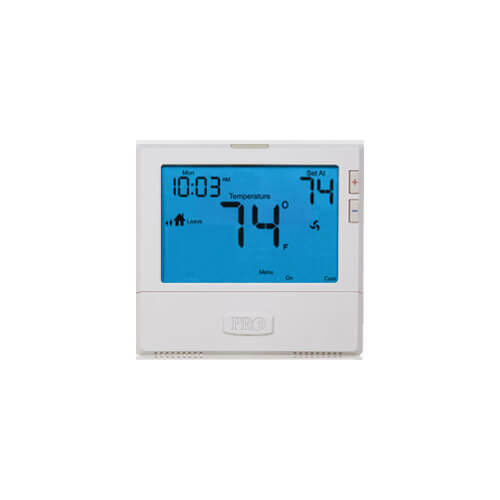 T805 Programmable 7 Day Single Stage Thermostat (1H/1C)